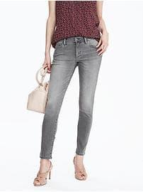 Gray Skinny Ankle Jean - Gray