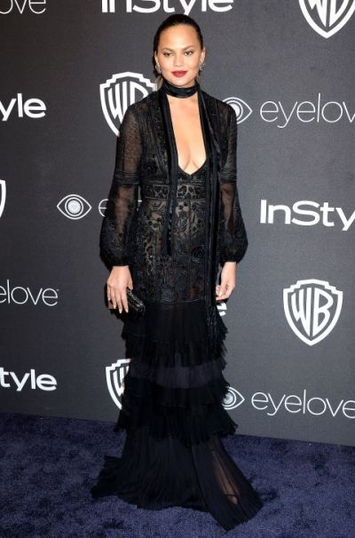 chrissy-teigen-in-j-mendel-shutterstock-the-luxe-lookbook