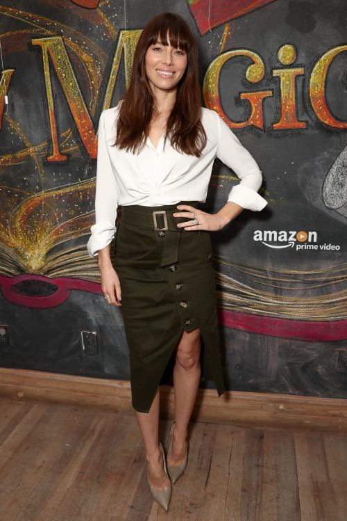 "The Cast of Amazon Original Series ""Just Add Magic"" Celebrates Second Season Premiere at Au Fudge with Special Guest Jessica Biel"
